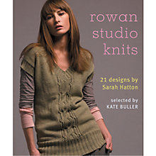 Buy Rowan Studio Knits Knitting Patterns Book Online at johnlewis.com