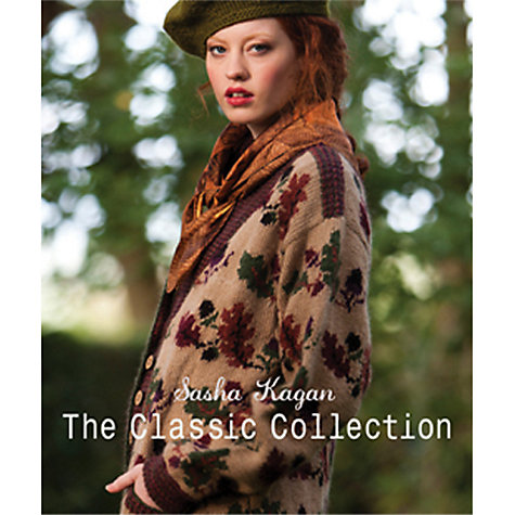 Buy Sasha Kagan: The Classic Collection Knitting Patterns Book Online at johnlewis.com