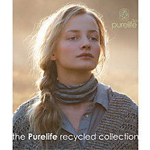 Buy Rowan Purelife Recycled Collection Knitting Patterns Brochure Online at johnlewis.com