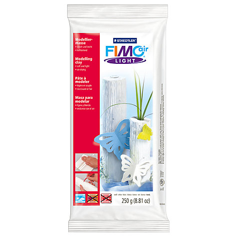 Buy FIMO Air Light Modelling Clay, White Online at johnlewis.com
