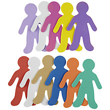 Buy John Lewis Foam People Shapes, Pack of 12 Online at johnlewis.com