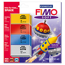 Buy FIMO Soft Modelling Clay, Space Set Online at johnlewis.com