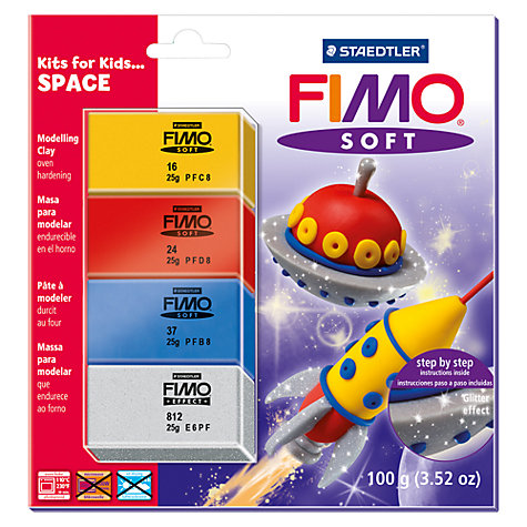 Buy Staedtler Fimo Soft Modelling Clay, Space Set Online at johnlewis.com