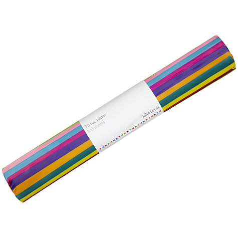 Buy John Lewis Tissue Paper Roll, Pack of 100 Online at johnlewis.com
