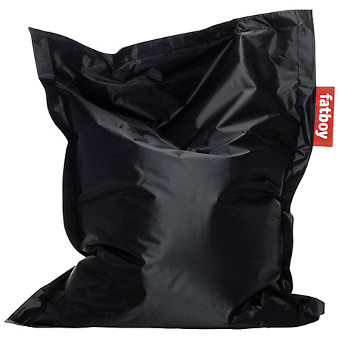 Buy Fatboy Junior Bean Bag, Black Online at johnlewis.com