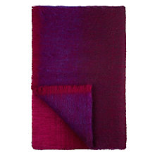 Buy Designers Guild Phipps Raspberry Throw, Magenta Online at johnlewis.com