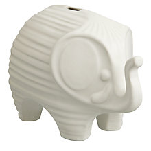 Buy Jonathan Adler Elephant Money Bank Online at johnlewis.com