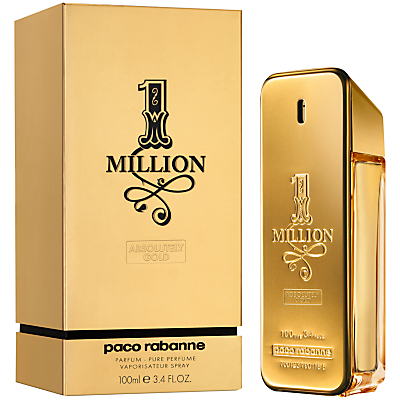 Paco Rabanne 1 Million Absolutely Gold Pure Perfume 100ml