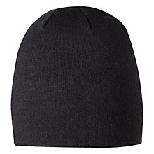 Buy Barts Core Beanie Hat, Black Online at johnlewis.com