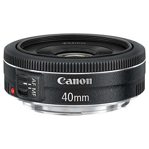 Buy Canon EF 40mm f/2.8 STM Pancake Lens Online at johnlewis.com