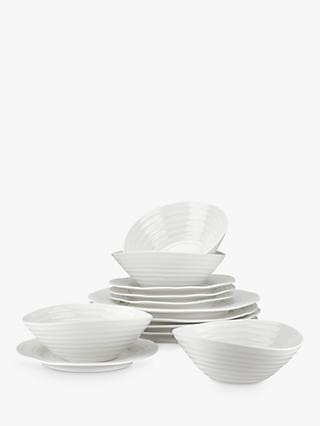 Sophie Conran for Portmeirion Dinnerware Set, White, 12 Piece