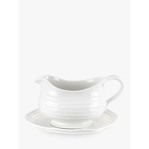 Buy Sophie Conran for Portmeirion Sauce Boat and Stand Online at johnlewis.com