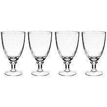 Buy John Lewis Ani Goblets, Set of 4, Clear Online at johnlewis.com