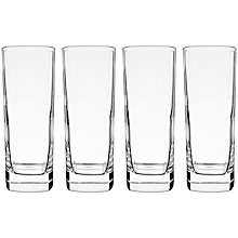 Buy John Lewis Cubo Slim Hiballs, Set of 4, Clear Online at johnlewis.com