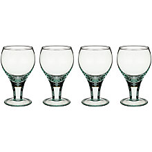 Buy LSA Firo Recycled Goblets, Set of 4 Online at johnlewis.com