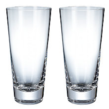 Buy LSA Madrid Beer Glasses, Set of 2 Online at johnlewis.com