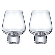 Buy LSA Madrid Brandy Glasses, Set of 2, Clear Online at johnlewis.com