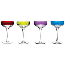 Buy Waterford Crystal Mixology Coupes, 0.175L, Set of 4, Multi Online at johnlewis.com