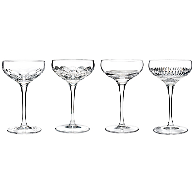 Waterford Crystal Mixology Coupes, 0.175L, Set of 4