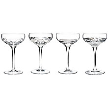 Buy Waterford Crystal Mixology Coupes, 0.175L, Set of 4 Online at johnlewis.com