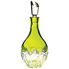 Buy Waterford Crystal Mixology Decanter, Green Online at johnlewis.com
