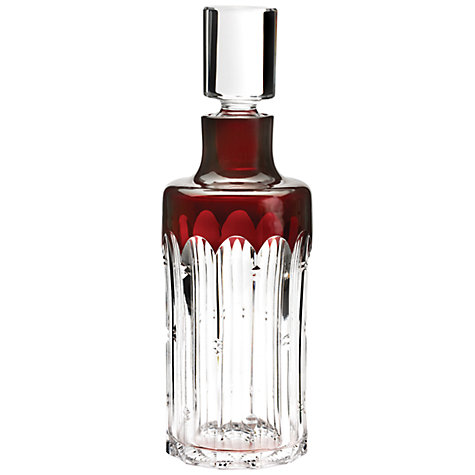Buy Waterford Crystal Mixology Decanter, Red Online at johnlewis.com