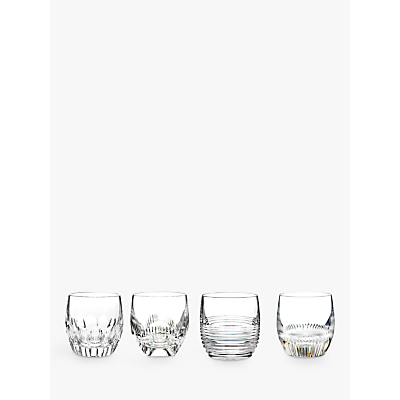 Waterford Crystal Mixology Tumblers, Set of 4, Clear