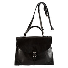 Buy Collection WEEKEND by John Lewis Vintage Veg Leather Grab Bag Online at johnlewis.com