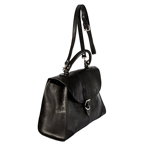 Buy Collection WEEKEND by John Lewis Vintage Leather Grab Handbag Online at johnlewis.com