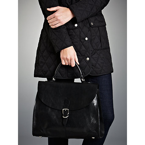 Buy Collection WEEKEND by John Lewis Vintage Veg Leather Grab Handbag Online at johnlewis.com