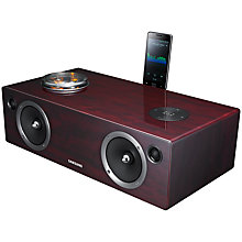 Buy Samsung DA-E750 2.1 Wireless Audio Dock with Valve Amplifier & Apple AirPlay, Rosewood Online at johnlewis.com