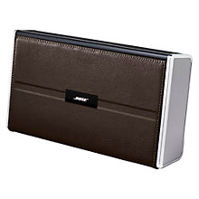 Buy Bose® SoundLink® II wireless mobile speaker, Leather Online at johnlewis.com