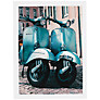 House by John Lewis, Scott Dunwoodie - Twin Vespa Unframed Print, 50 x 70cm