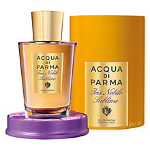 Buy Acqua Di Parma Iris Nobile Sublime Eau de Parfum, 75ml Online at johnlewis.com
