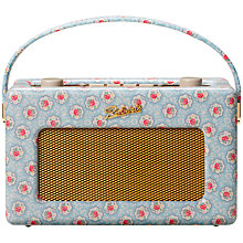 Buy ROBERTS Cath Kidston Limited Edition Revival RD60 DAB Digital Radio, Kempton Rose Online at johnlewis.com