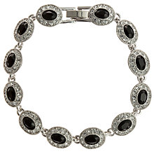 Buy Carolee Oval Stone Crystal Surround Bracelet Online at johnlewis.com