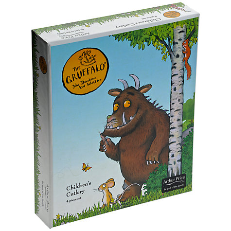 Buy Arthur Price Gruffalo Childs Cutlery Set, 4 Piece Online at johnlewis.com