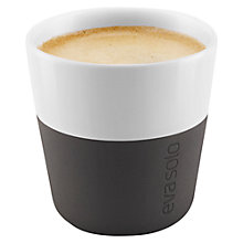 Buy Eva Solo Espresso Cup, Set of 2, Black Online at johnlewis.com