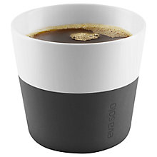 Buy Eva Solo Coffee Cup, Set of 2, 0.23L, Black/White Online at johnlewis.com
