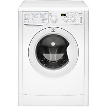 Buy Indesit IWD51231 Washing Machine, 5kg Load, A+ Energy Rating, 1200rpm Spin, White Online at johnlewis.com