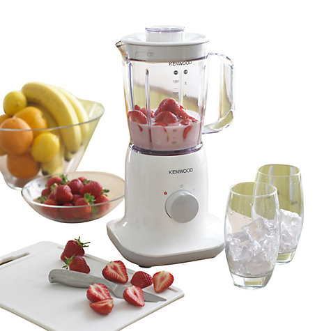 Buy Kenwood BL370 Blender, White Online at johnlewis.com