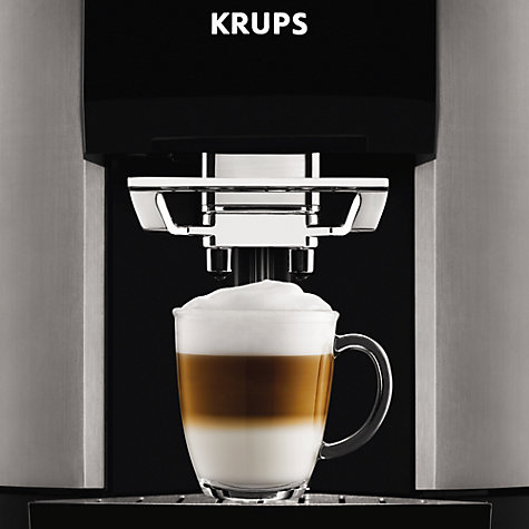 Buy Krups EA9000 Espresseria Bean-to-Cup Coffee Machine, Black Online at johnlewis.com