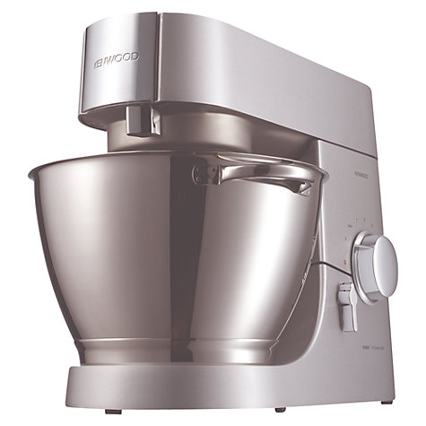 Buy Kenwood KMC010 Chef Stand Mixer, Titanium Online at johnlewis.com