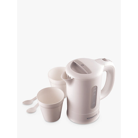 Buy Kenwood JKP250 Travel Kettle, White Online at johnlewis.com