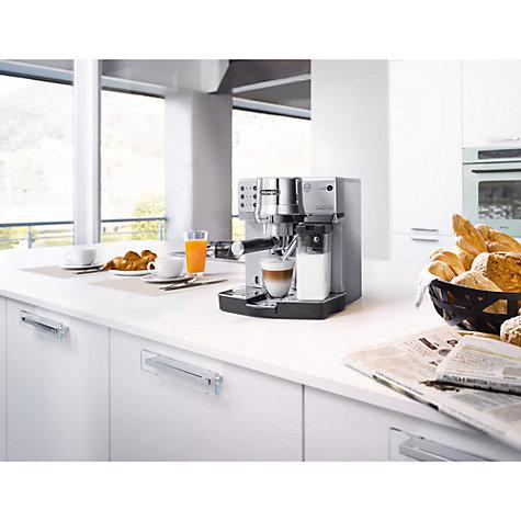 Buy De Longhi Espresso Ec860m Coffee Machine Silver