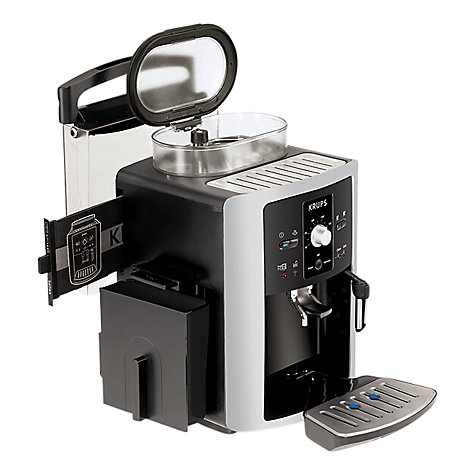Buy Krups EA8005 Espresseria Bean-to-Cup Coffee Machine, Black Online at johnlewis.com