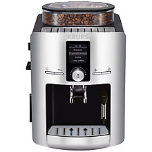 Buy KRUPS EA8260 Espresseria Bean-to-Cup Coffee Machine, Silver Online at johnlewis.com