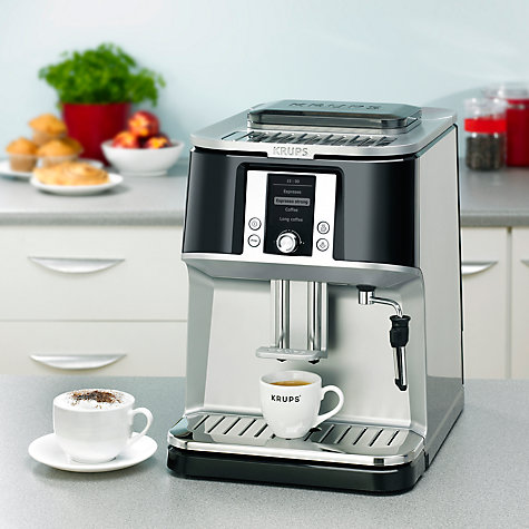 Buy Krups EA8320 Espresseria Bean-to-Cup Coffee Machine, Black Online at johnlewis.com