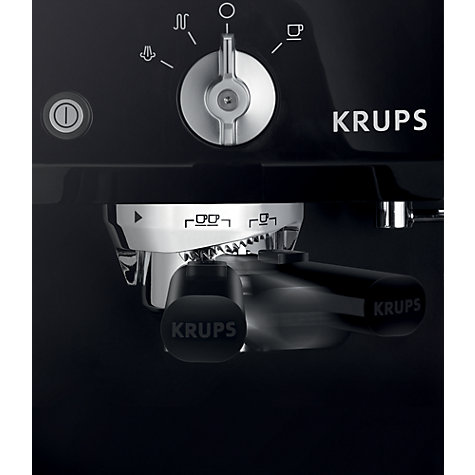 Buy KRUPS XP5210 Espresso Coffee Machine, Black Online at johnlewis.com