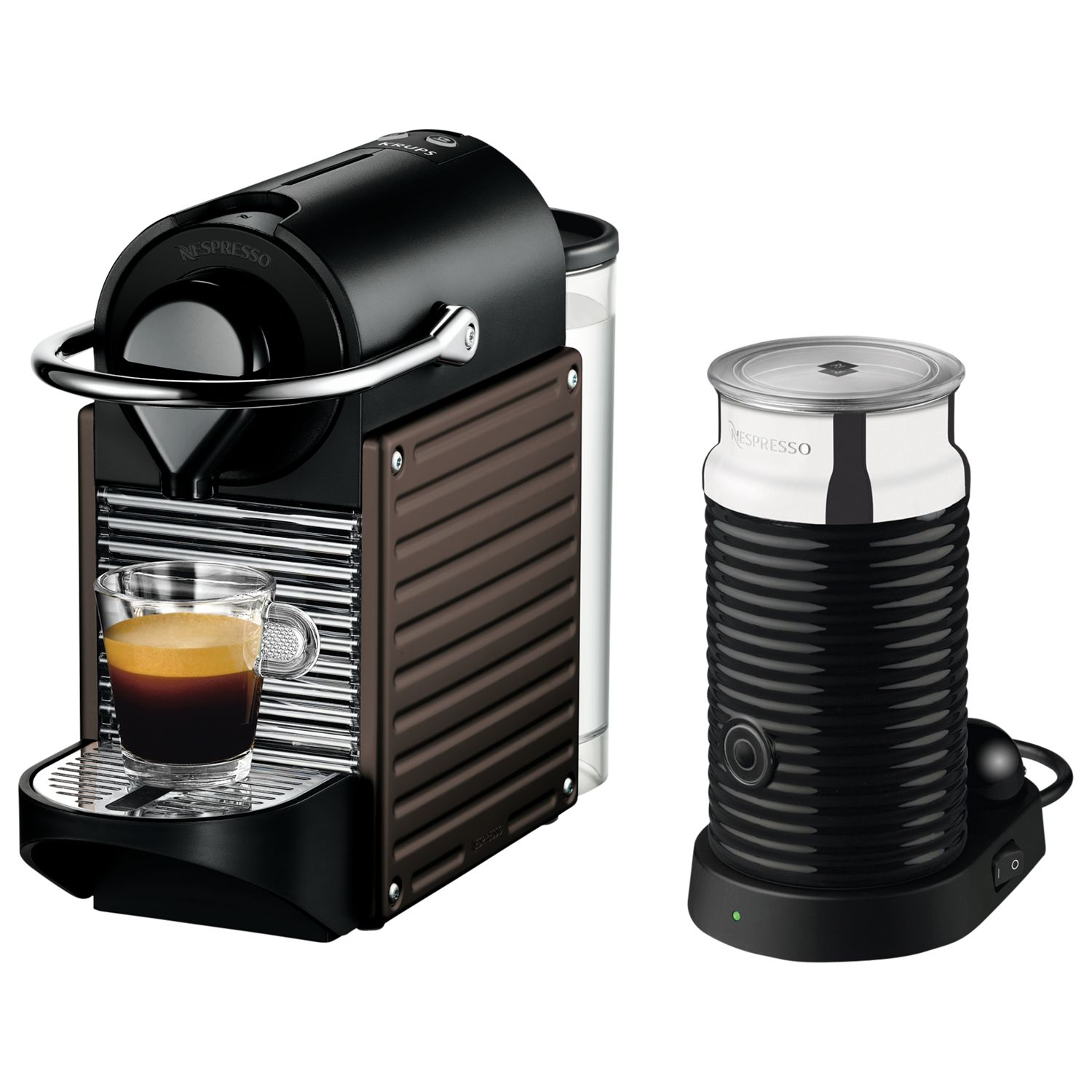 Krups Coffee Maker John Lewis : Buy Nespresso Pixie Automatic Coffee Machine and Aeroccino by KRUPS John Lewis